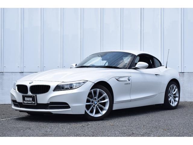 BMW Z4 sDrive20i ハイラインパッケージ 正規認定中古車 後期モデル 純正HDDナビ ブラックレザーシート ミラーETC シートヒーター 電動シート Bluttoth接続(音楽) マルチファンクションステアリング キセノンヘッドライト