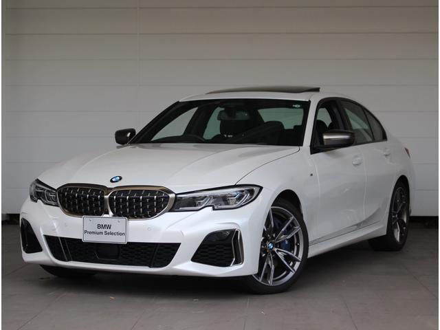 BMW M340i xDrive デモカー 黒革 サンルーフ BMWレーザーライト harman/kardon  地デジ APPLE CAR PLAY