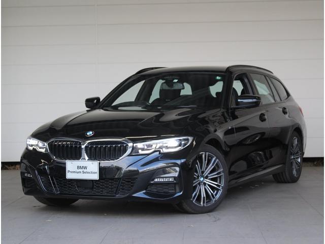 BMW 320d xDriveツーリング Mスポーツ デモカー使用車 LEDライト 18インチAW シートヒーター ACC 衝突軽減ブレーキ 電動リアゲート