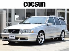ボルボ V70R AWD ユーザー買取車 サンルーフ キセノン 2年保証付