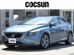 ボルボ V40T4 SE パノラマルーフ ブラウン本革 ナビ 2年保証付