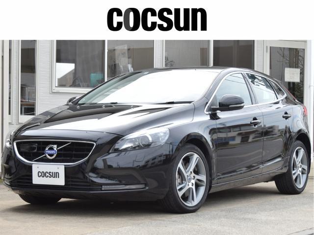 ボルボ V40 D4 SE 黒本革シート 禁煙車 2年保証付