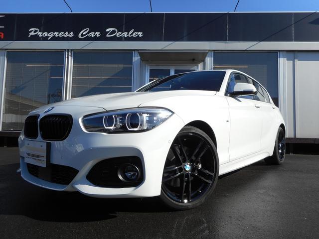 BMW 1シリーズ 118i Mスポーツ エディションシャドー 1オーナー コニャックレザー 純正ナビ バックカメラ ACC レーンディパーチャー PDC コンフォートアクセス ETC LEDヘッドライト