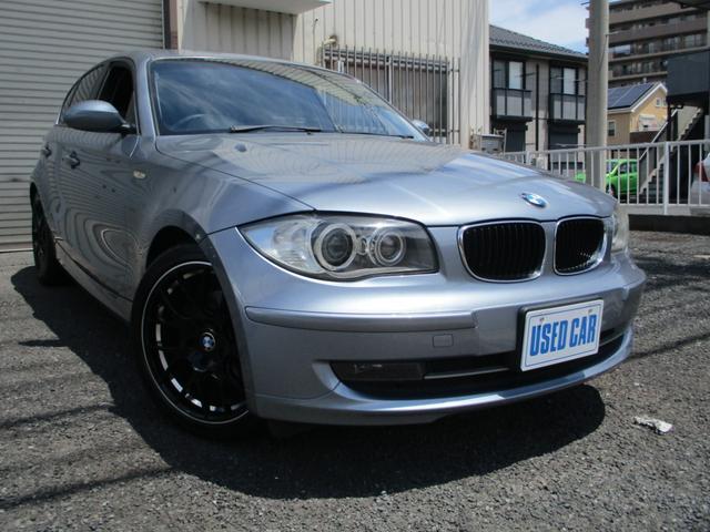 BMW 120i ハイラインパッケージ 後期黒革 Cアクセス18AW