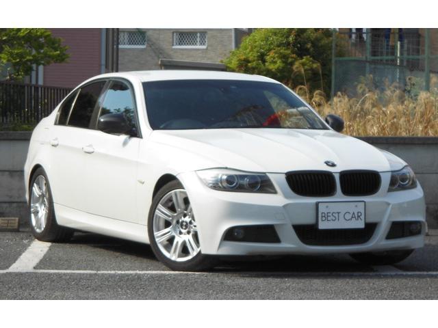 BMW 3シリーズ 320iMスポカーボン使用後期Sキ−純正ナビ...