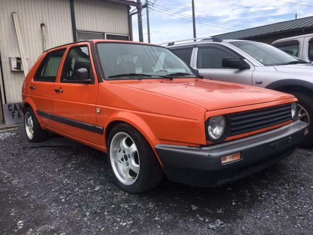 フォルクスワーゲン GLi パワステ 修復歴なし D車 1991年式 特色 左H
