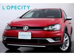 VW ゴルフオールトラック新車保証継承 1オ−ナ− 純正SDナビ ETC シ−トヒ−タ