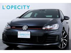 VW ゴルフGTI限定500台 専用19インチAW 専用赤キャリパ− 純正ナビ