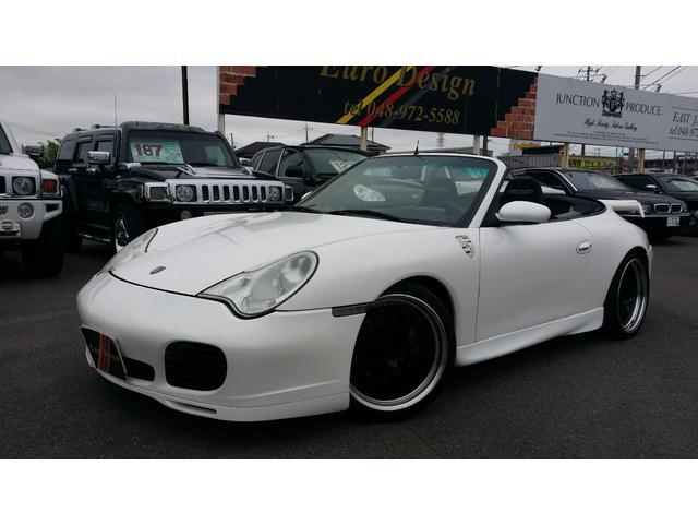 ポルシェ 911 911カレラ ターボ仕様 GTウイング 6速 ...