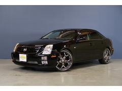 キャデラックSTS4.6L 黒革電動暖席ASANTI22インチAWディーラー車