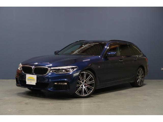 BMW 523dツーリング Mスポーツ 純正ナビ黒革電動暖席サンルーフ20AW