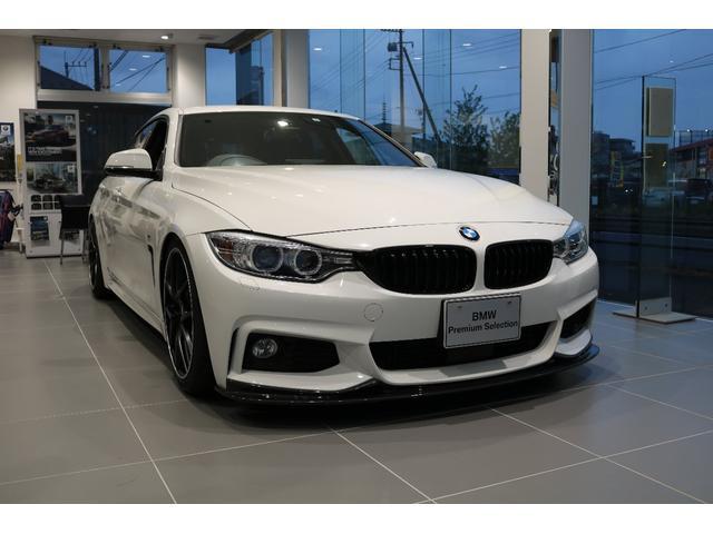 BMW 420iグランクーペ Mスポーツ 3Dエアロ 車高調