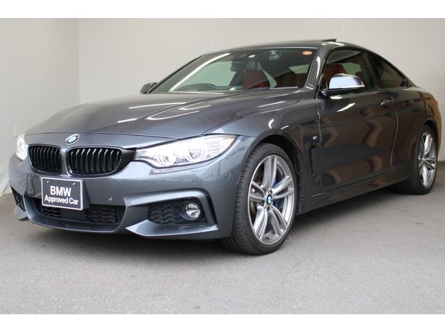 BMW 435iクーペ Mスポーツ サンルーフ ACC 赤レザー 認定中古車