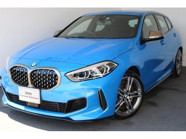 BMW 1シリーズ M135i xDrive 電動シート 4WD ナビETC 追従機能 パーキングアシスト LEDヘッドライト 純正18インチアルミホイール 認定中古車