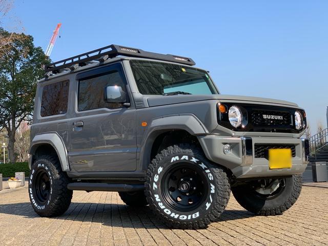 スズキ XL コンプリートカー/セーフティーサポート装着車/スマートキー/D席N席シートヒーター/オートエアコン/1.5インチリフトアップ/LEDルーフラック/リアラダー/ポケットスタイルオーバーフェンダー