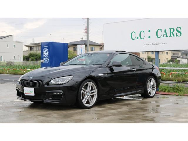 BMW 640iクーペ Mスポーツパッケージ サンルーフ黒革20AW
