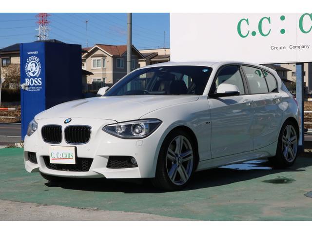 BMW 120i Mスポーツ 170PSエンジン 純正ナビ キセノン