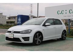 VW ゴルフRベースグレード4WD 純正ナビTV 黒レザー キセノン
