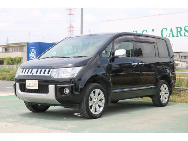 三菱 シャモニー4WD 7人乗 ナビTV 両側電動ドア ACC