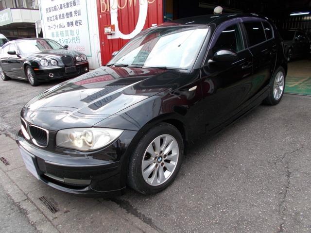 BMW 116i キセノン ストラーダナビ ディーラー整備車両