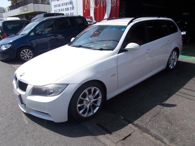 BMW 320iツーリング Mスポーツ キセノン テスター診断済車両
