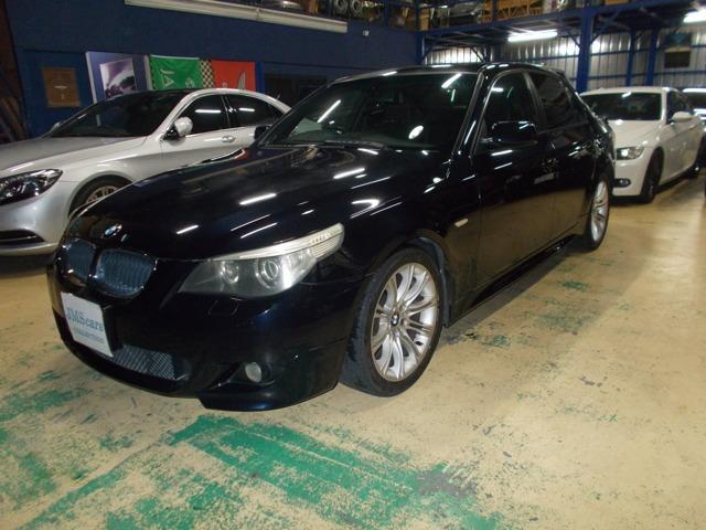 BMW 525i Mスポーツ キセノン サンルーフ ハーフレザー