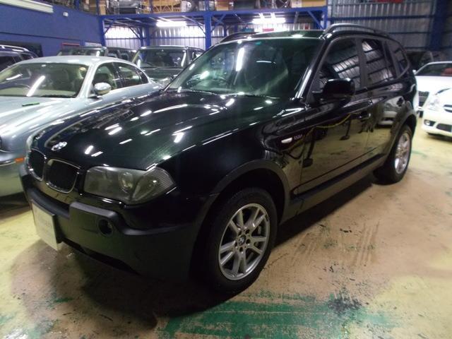 BMW 2.5i 4WD キセノン ディーラーメンテナンス車両