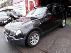 BMW X32.5i 4WD カロHDDナビ地デジテレビ ディーラー整備