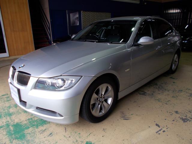 BMW 323i ハイライン キセノン 黒革シート ポテンザ9分山