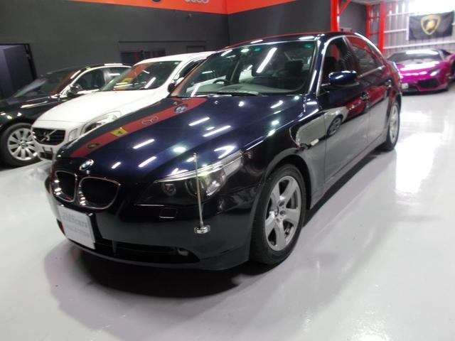 BMW 525iハイラインパッケージ キセノン 黒革 ディーラー整備