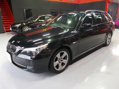 BMW525iツーリングハイライン08モデル電子シフト HDD黒革