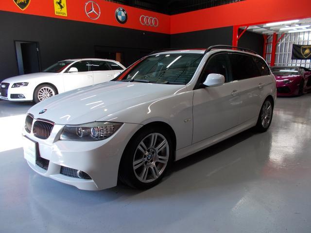BMW 320iツーリング Mスポーツ ガラスサンルーフ 純正ナビ