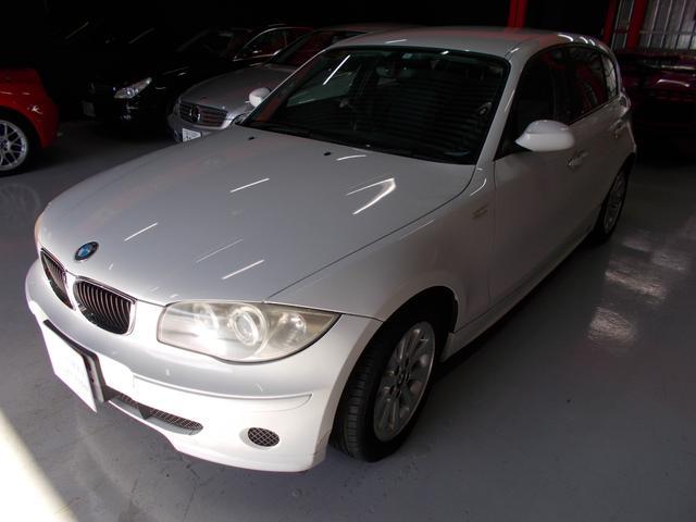 BMW 116i スマートキー キセノン ディーラーメンテナンス車両