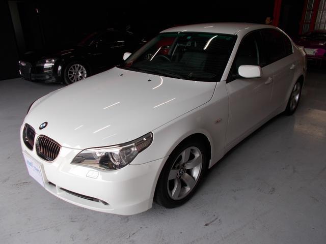 BMW 525i キセノン ディーラーメンテナンス車両 純正ナビ