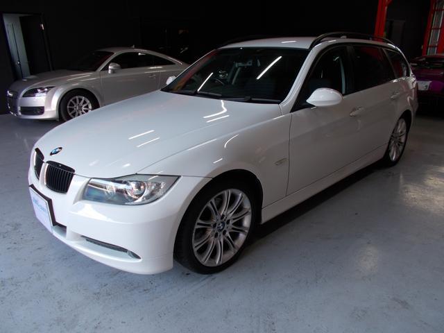 BMW 320iツーリング 純正ナビ Mスポーツ18アルミ DL整備