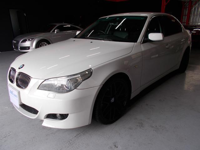 BMW ハイライン 19インチブラックアウト 純正ナビ キセノン黒革