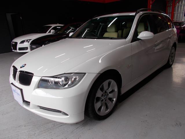 BMW ハイラインパッケージ オフホワイト革内装 パノラマサンルーフ