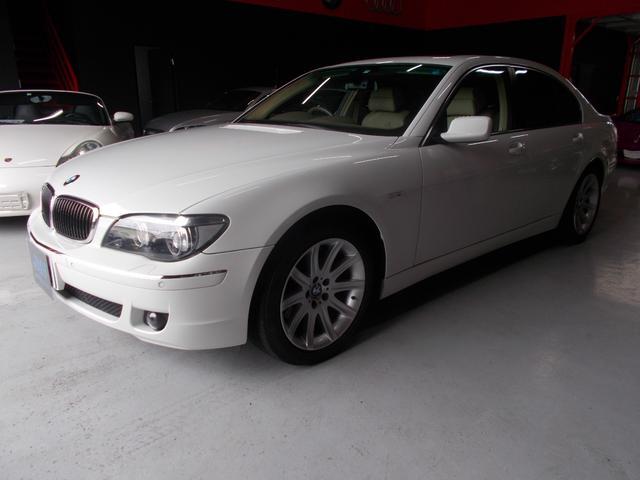 BMW 740i キセノン 革 純正ナビ サンルーフ ディーラー整備