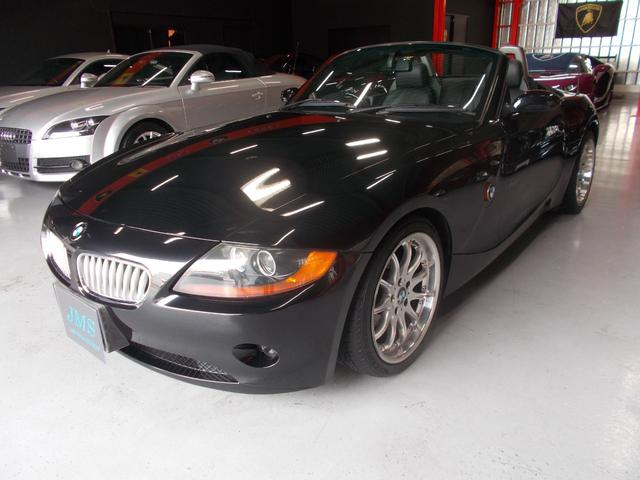 BMW 2.5i ディーラー整備 キセノン 黒革 電動オープン