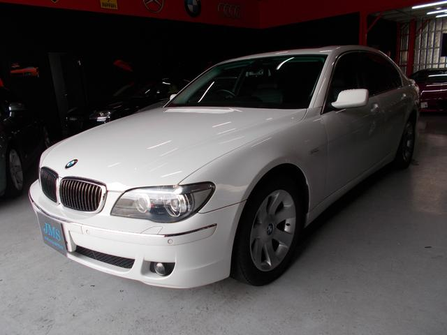 BMW 7シリーズ 740i サンルーフ キセノン 黒革 ナビ ...