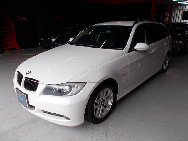 BMW 320iツーリング キセノン 社外ナビ地デジ DL整備車両