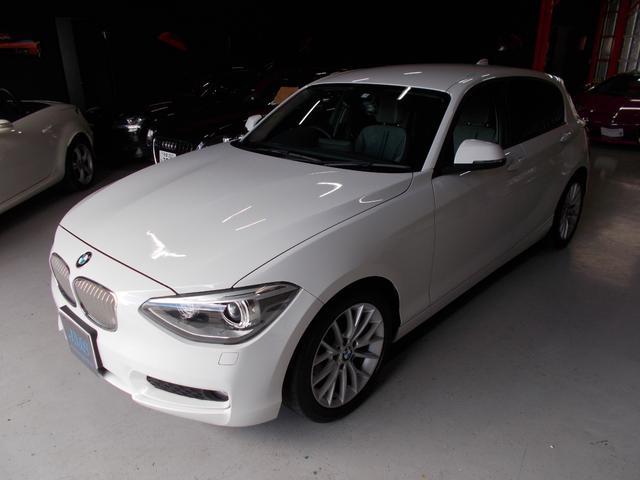 BMW 116i スタイル ディーラー整備 キセノン HDDナビ