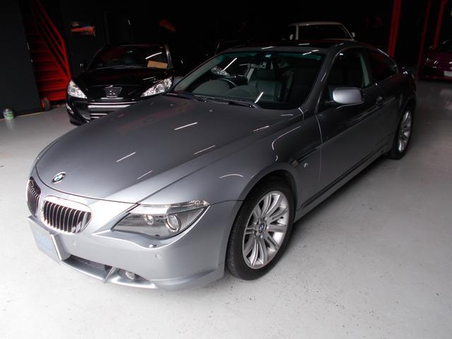 BMW 645Ci キセノン サンルーフ 黒革 ディーラー整備車両
