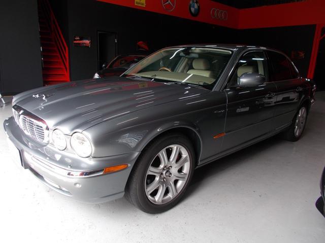 ジャガー XJ8 3.5 天張り張替済 キセノン オフホワイト革内装