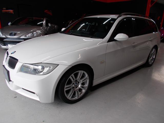 BMW 325iツーリング Mスポーツ 社外ナビBカメラ キセノン