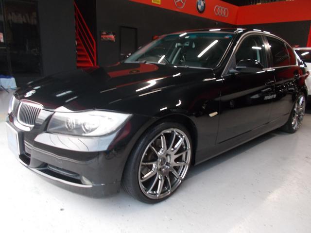 BMW 323iハイライン6気筒 サンルーフ 黒革 RAYS19AW
