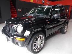 クライスラージープ チェロキーリミテッド 黒革 DAKAR20インチ ディーラー整備車両