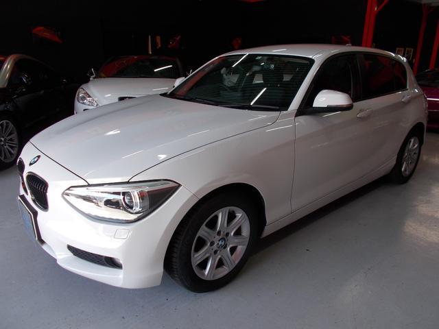 BMW 116i キセノン 純正HDDナビ ディーラー整備車両