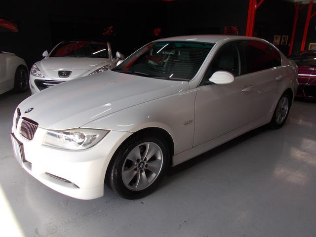 BMW 323i ハイライン 6気筒 キセノン 黒革 HDDナビ