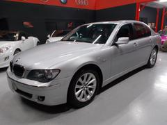 BMW740i キセノン サンルーフ 黒革 純正HDDナビ D整備